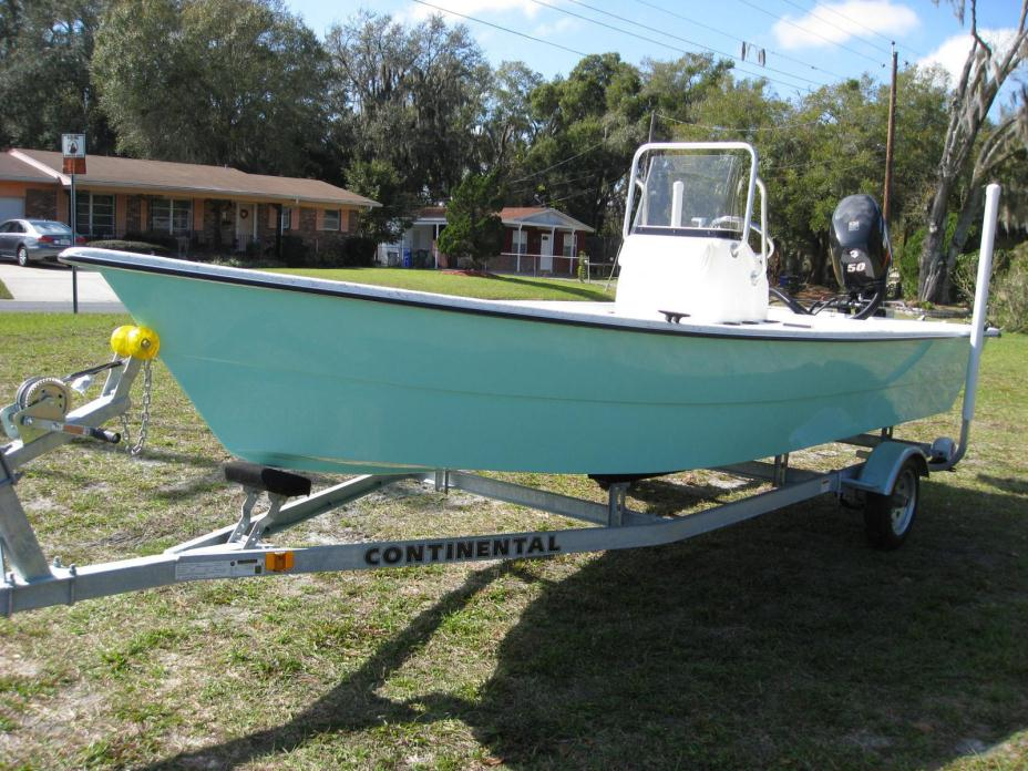 2016 Stumpnocker 174 Sports Skiff CC