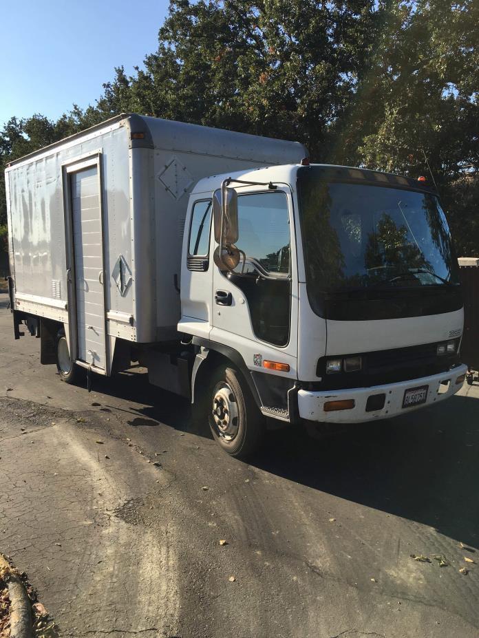 2000 Isuzu Frr  Box Truck - Straight Truck