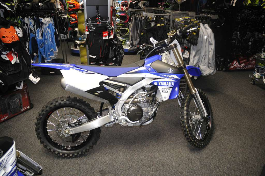 Yamaha yz450f team yamaha blue motorcycles for sale in for Yamaha of roseville