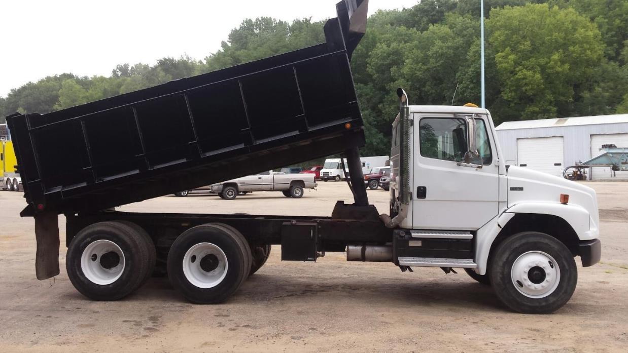 2000 Freightliner Fl80  Dump Truck