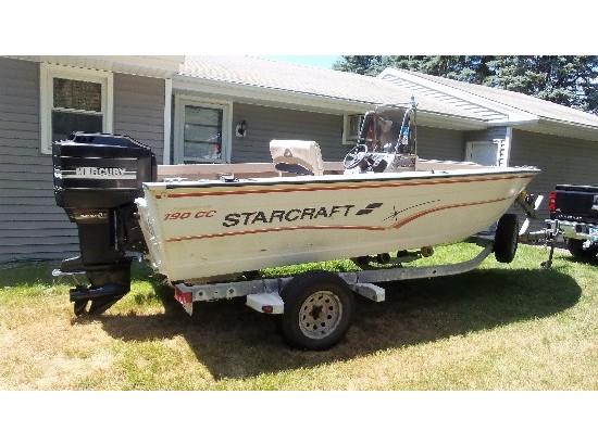 1997 Starcraft 19 cc FishMaster