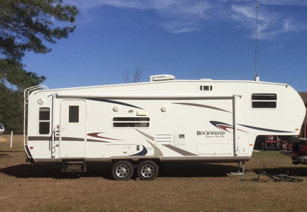 2007 Forest River ROCKWOOD SIGNATURE ULTRA 8306SS