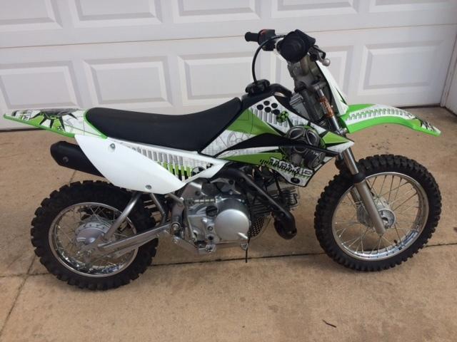 2010 Kawasaki KLX 110 Dirt Bike