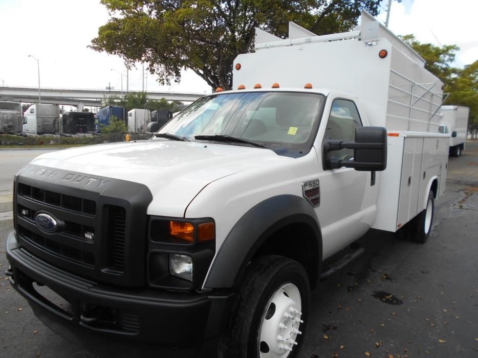 2009 Ford F550 Mechanics Truck