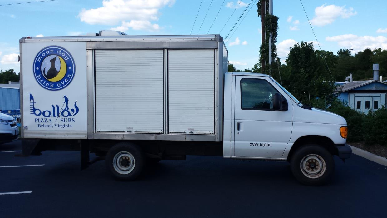 2005 Ford E-Series Refrigerated Truck