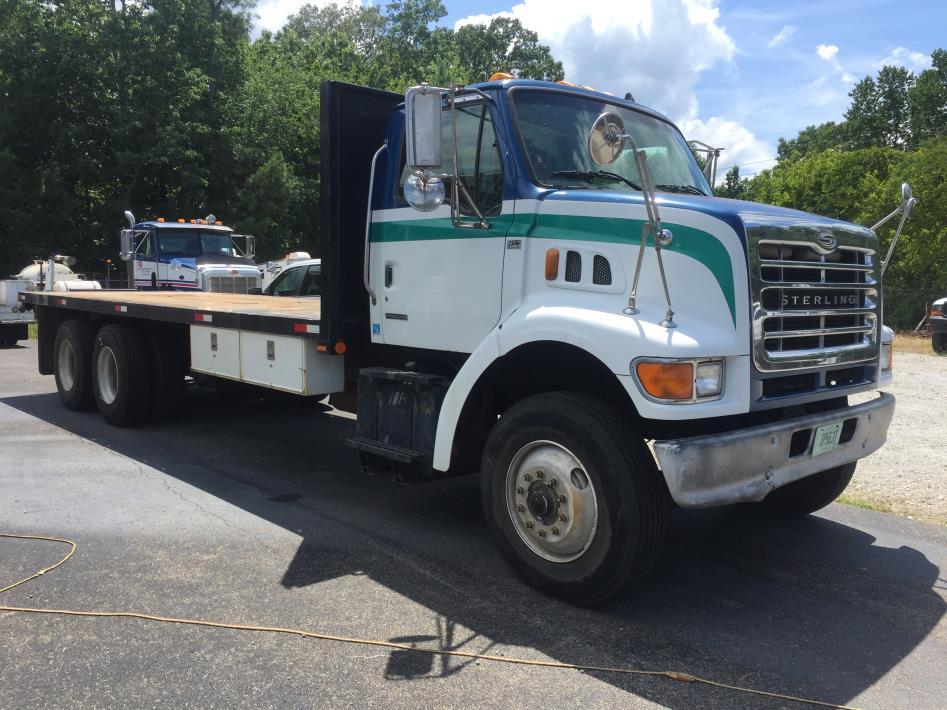 2003 Sterling Lt9500  Flatbed Truck