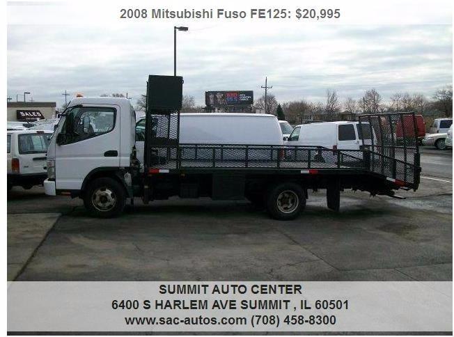 2008 Mitsubishi Fuso Fe83d Cabover Truck - COE