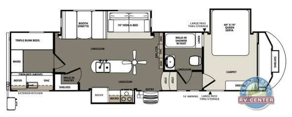 2014 Forest River Rv Sierra Select 30IOK