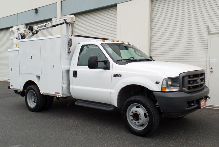 2004 Ford F450  Mechanics Truck