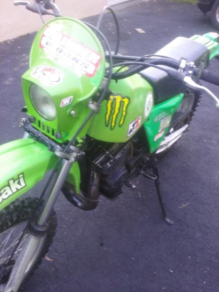 Kawasaki Kdx 450 Motorcycles for sale