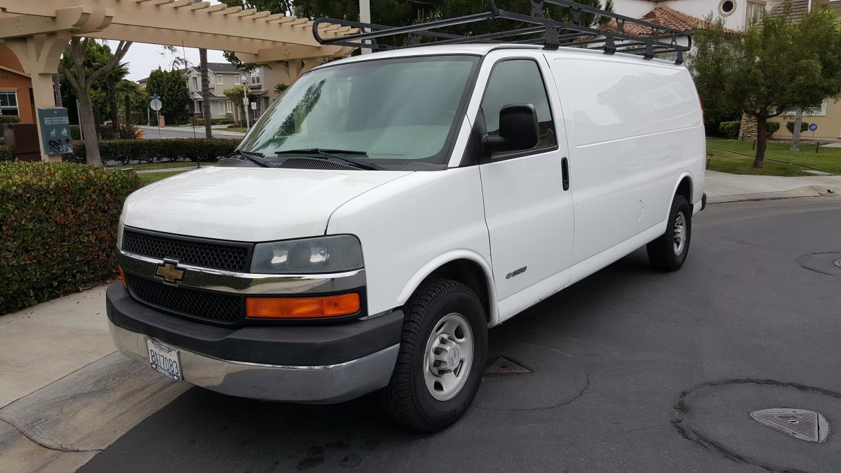 cargo van for sale in huntington beach california. Black Bedroom Furniture Sets. Home Design Ideas