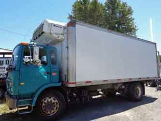 2000 Mack Midliner Ms300p Refrigerated Truck