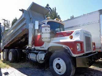1979 Mack Rs600l Dump Truck