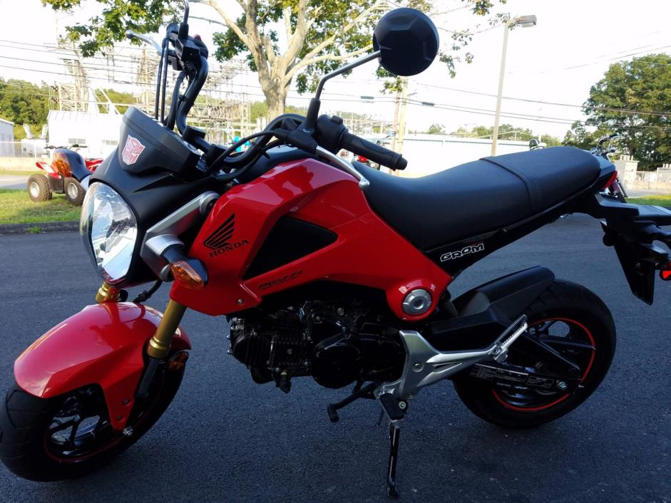honda grom motorcycles for sale in groton connecticut. Black Bedroom Furniture Sets. Home Design Ideas