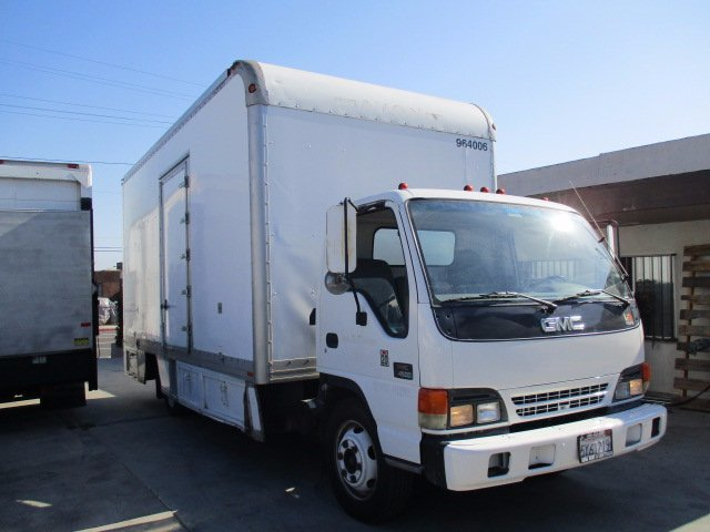 1999 Gmc W 4500  Box Truck - Straight Truck
