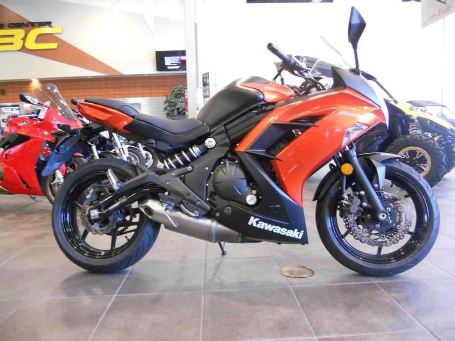 Kawasaki Ninja 650 Orange motorcycles - 93.8KB