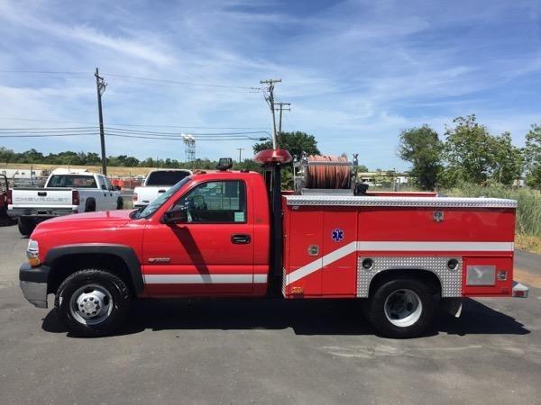 2001 Chevrolet 3500hd Fire Truck