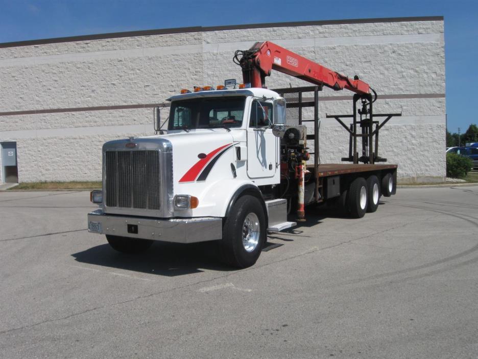 2000 Peterbilt 378  Crane Truck