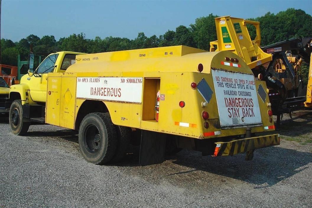 1990 Chevrolet Kodiak 70 Fuel Truck - Lube Truck