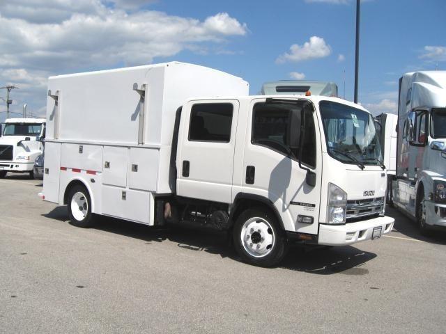 2012 Isuzu Nqr  Utility Truck - Service Truck