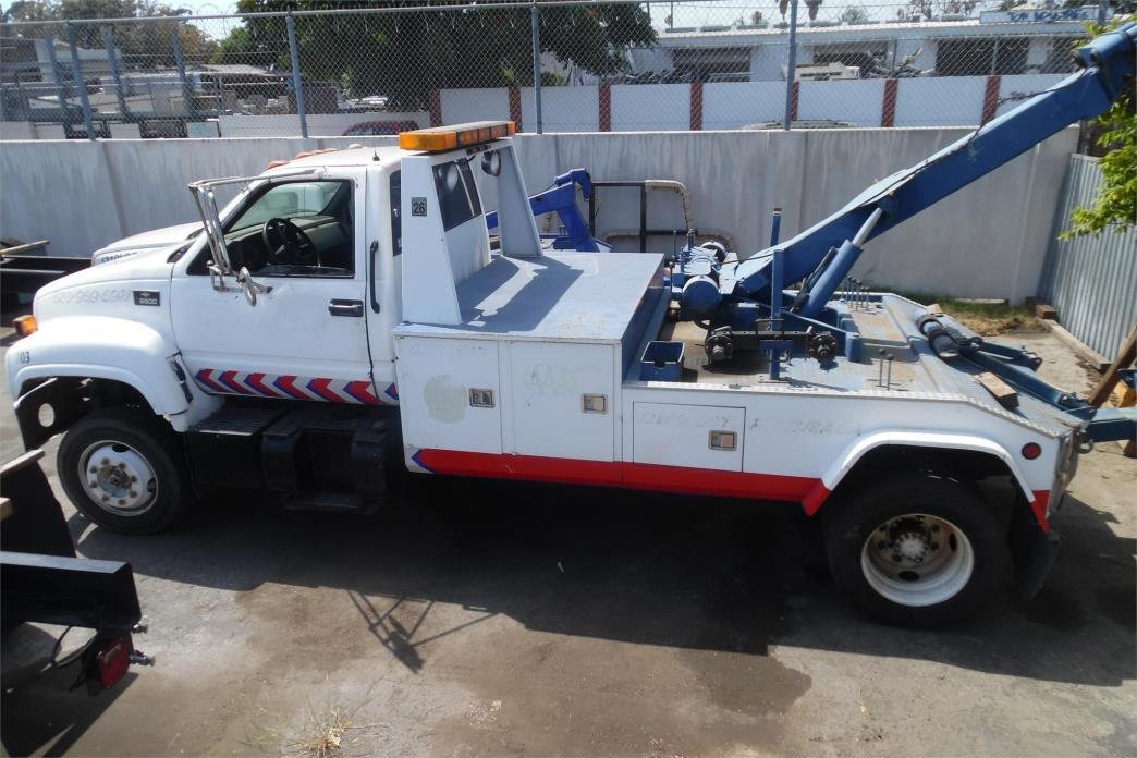 1998 Gmc Topkick C6500 Wrecker Tow Truck