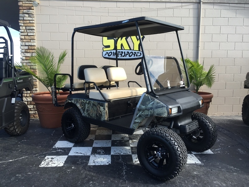1999 Club Car 48V Custom Lifted