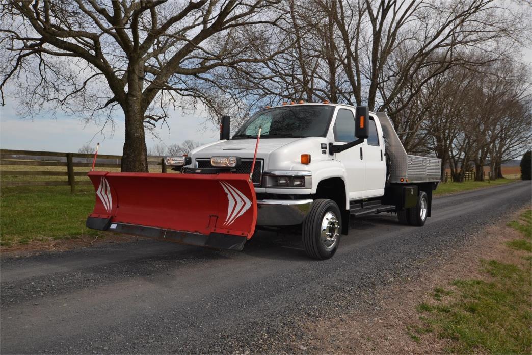 2005 Gmc C4500 Plow Truck - Spreader Truck