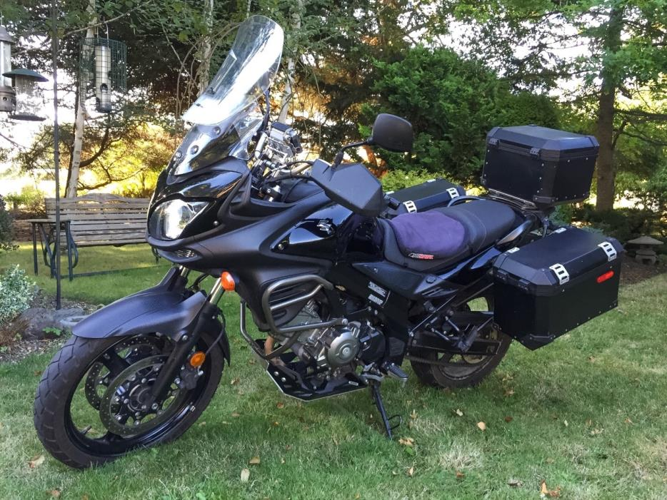 suzuki v strom 650 motorcycles for sale in port townsend washington. Black Bedroom Furniture Sets. Home Design Ideas