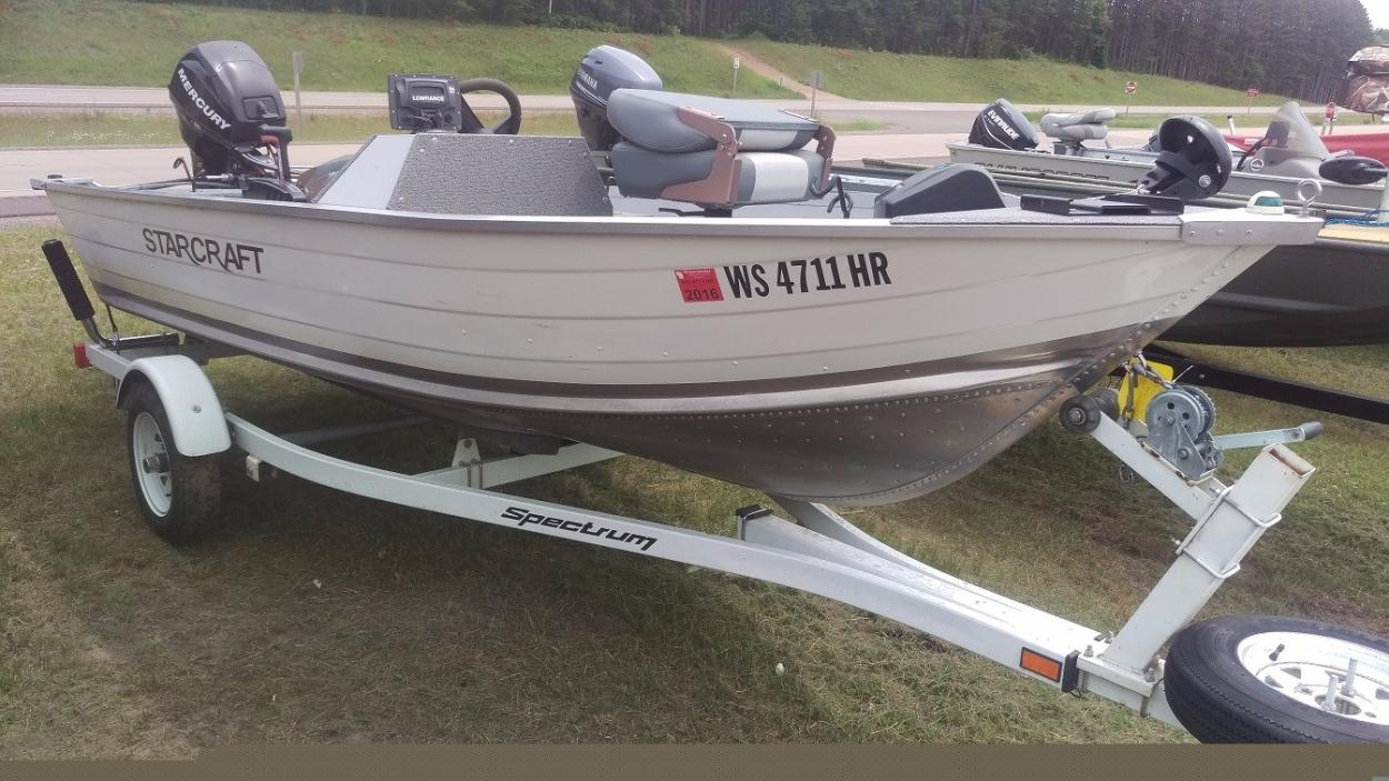 Starcraft seafarer boats for sale for Starcraft fishing boats