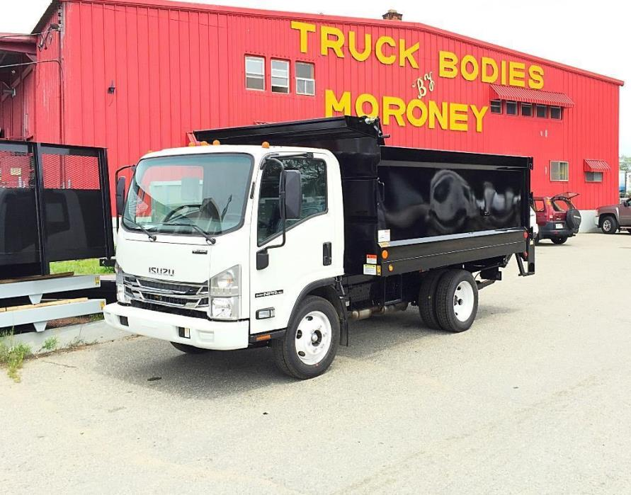 2016 Isuzu Nprhd12ftdumpw/Pgate  Dump Truck