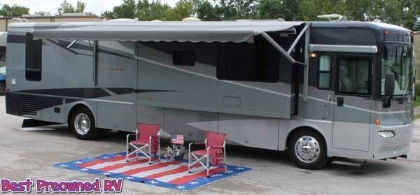 2004 Itasca Meridian 39k 3 slides wood floors warranty