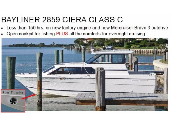 1998 Bayliner 2859 Ciera Express Cruiser