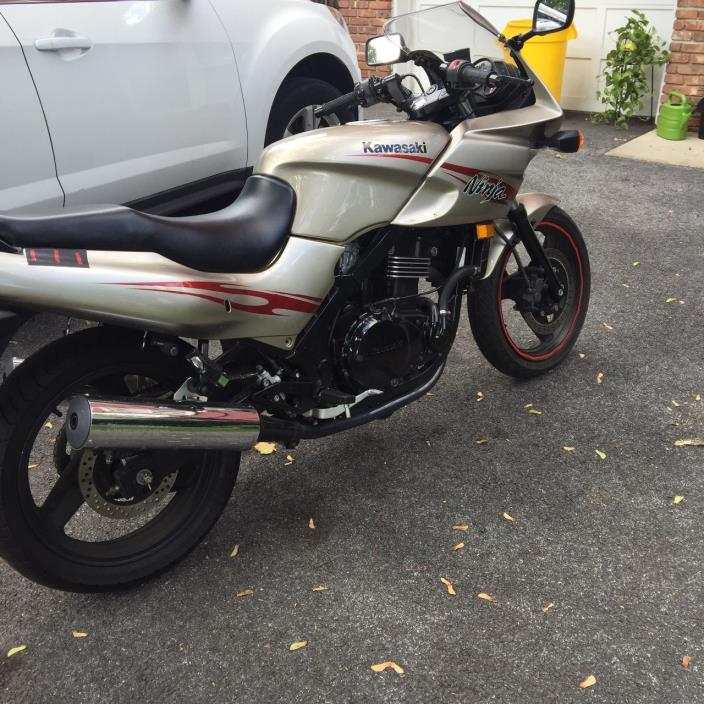 kawasaki ninja 500r motorcycles for sale in new jersey. Black Bedroom Furniture Sets. Home Design Ideas