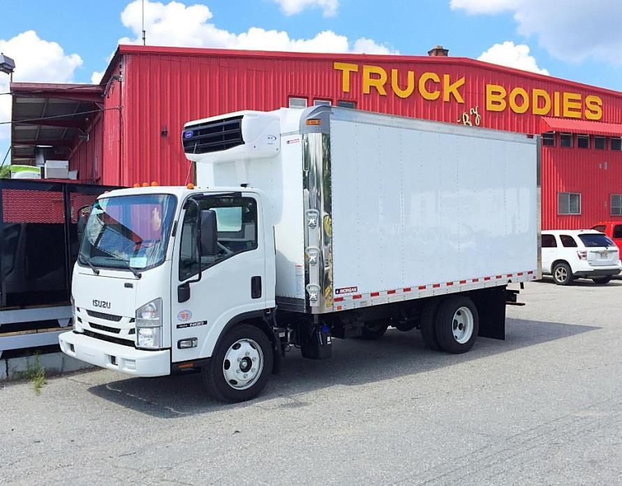 2016 Isuzu 16 Nqr Diesel 16ft Reefer Body  Refrigerated Truck