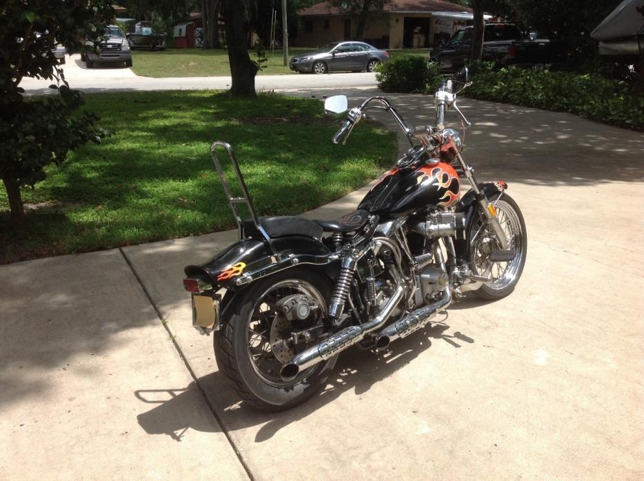 1976 Shovelhead Motorcycles For Sale