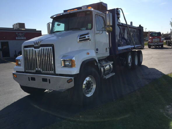 2015 Western Star 4700sf Dump Truck
