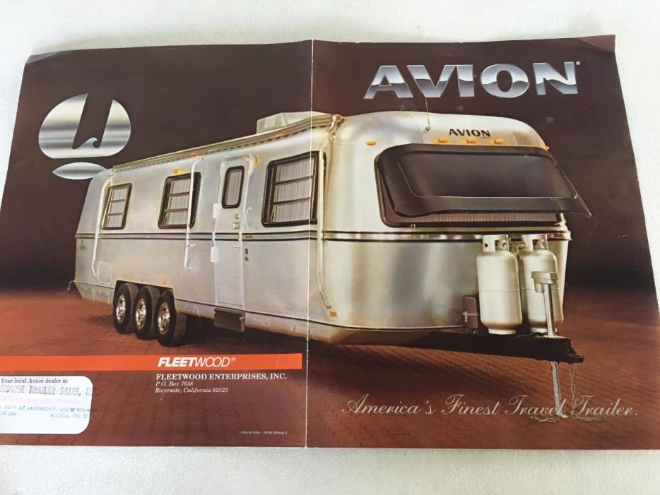 Fleetwood Avion Rvs For Sale