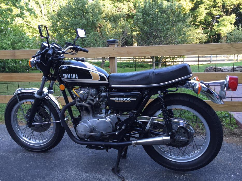 1979 yamaha 650 motorcycles for sale in new york