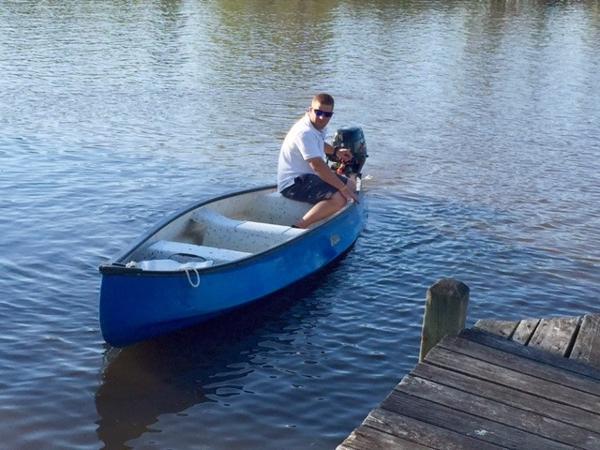 2013 Gheenoe Jon Boat DF9.9