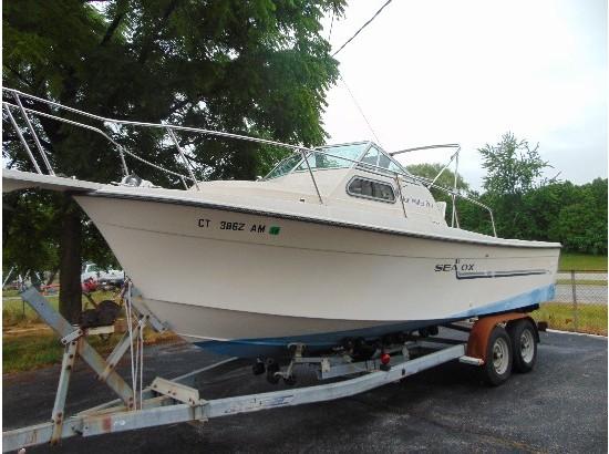 1989 Sea Ox 25 Blue Water Pro