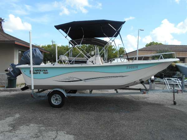 2013 Carolina Skiff DLV 198