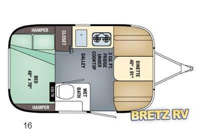 2017 Airstream Rv Sport 16