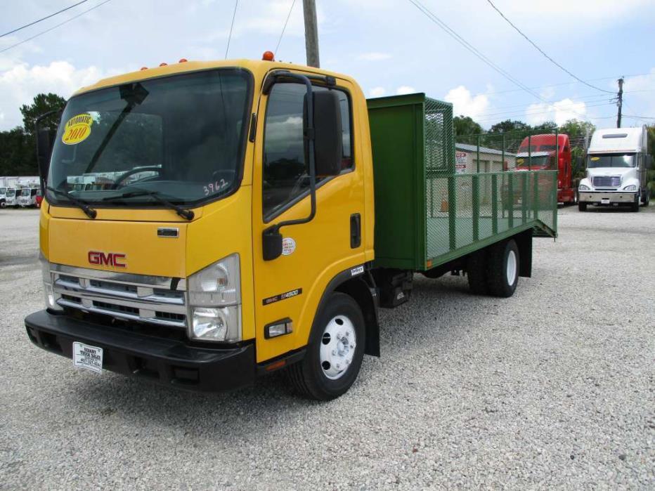 2010 Gmc W4500 / Isuzu Npr  Landscape Truck