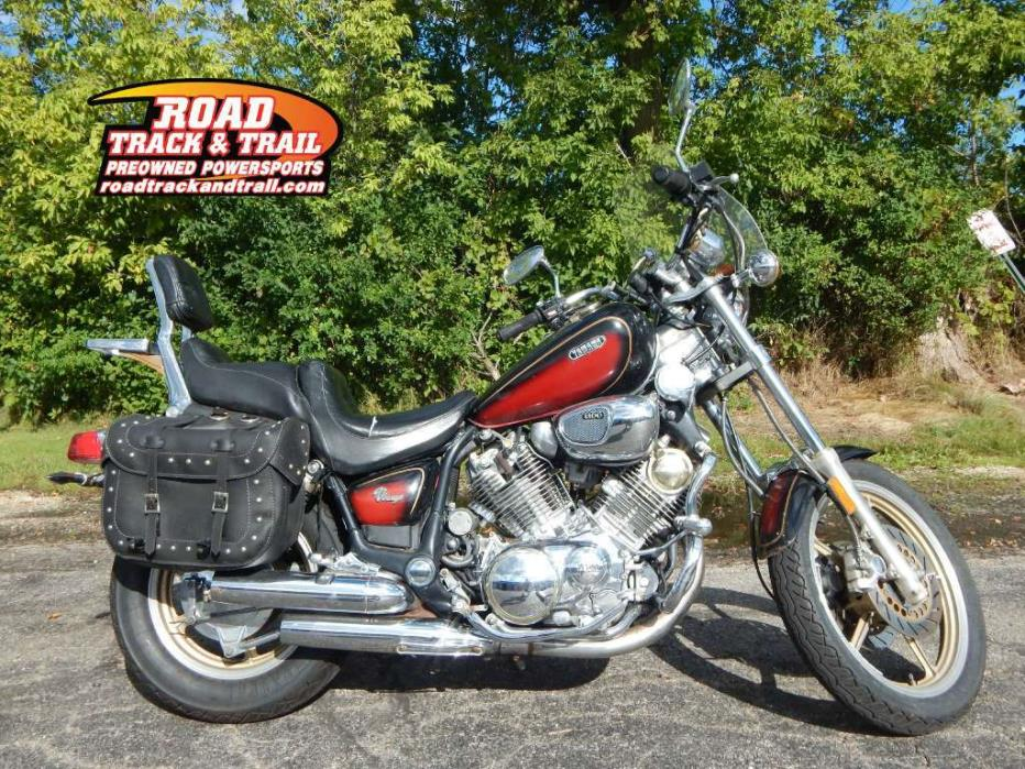 Yamaha virago motorcycles for sale in wisconsin for Yamaha virago 1100 saddlebags