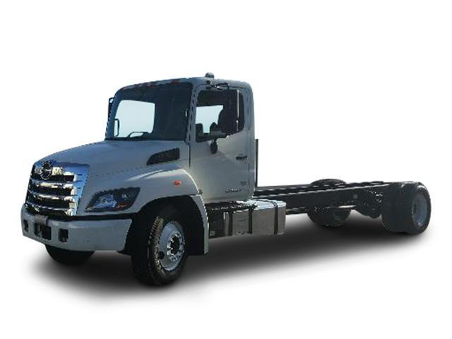 2014 Hino 268a  Refrigerated Truck