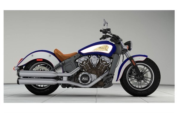 2017 Indian Scout Sixty - Indian Motorcycle Red