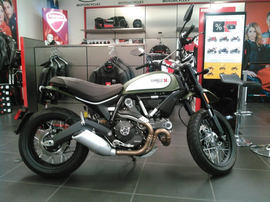2017 Ducati SCRAMBLER URBAN ENDURO