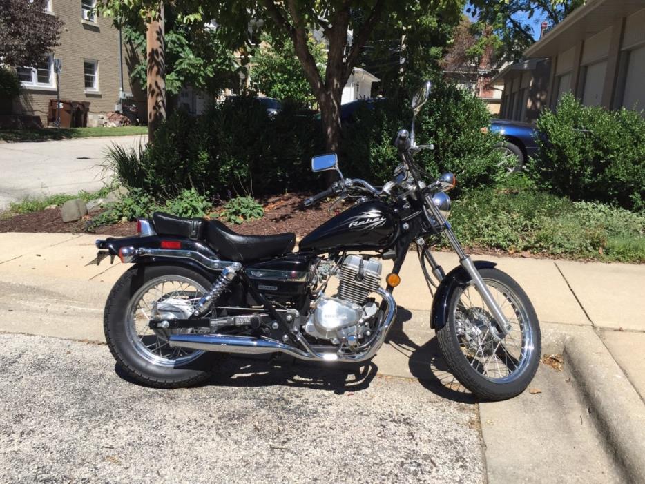 1982 honda rebel 250 motorcycles for sale. Black Bedroom Furniture Sets. Home Design Ideas