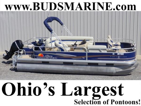 2012 Tracker Fishin Barge 20 DLX