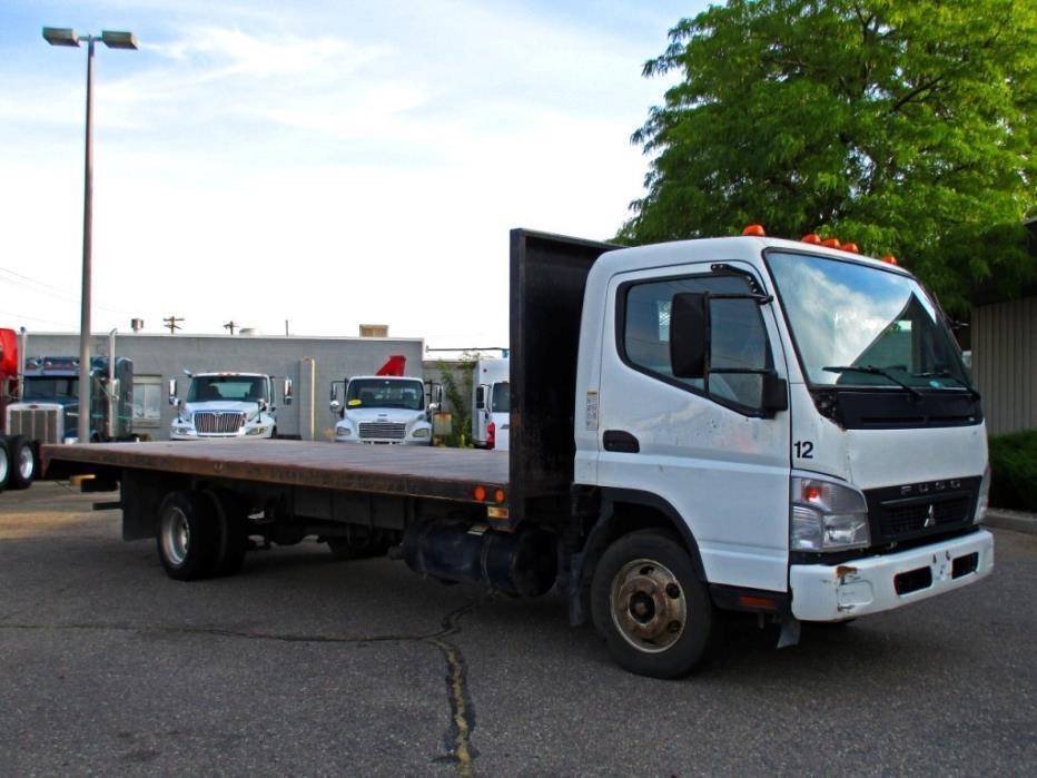 2008 Mitsubishi Fuso Fe Flatbed Truck